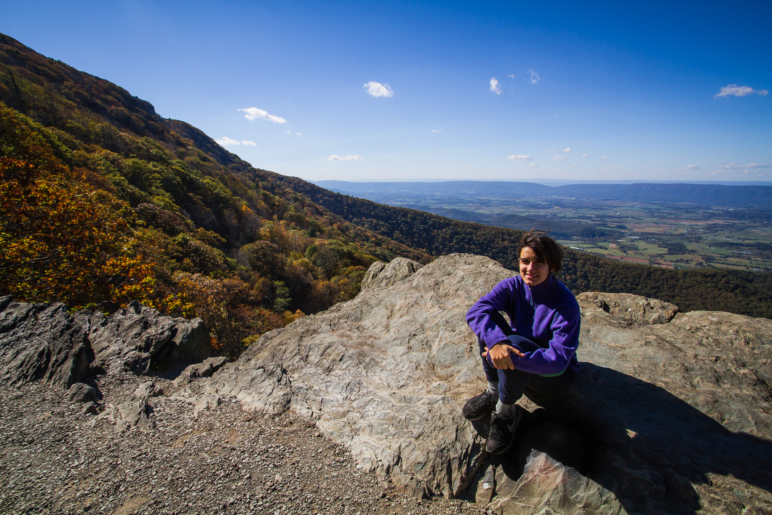 South view from Stoney Man Overlook, Shenandoah
