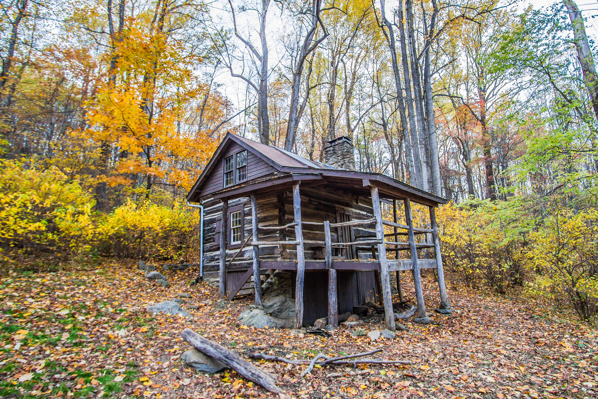 Jones Mountain cabin, Shenandoah, Virginia