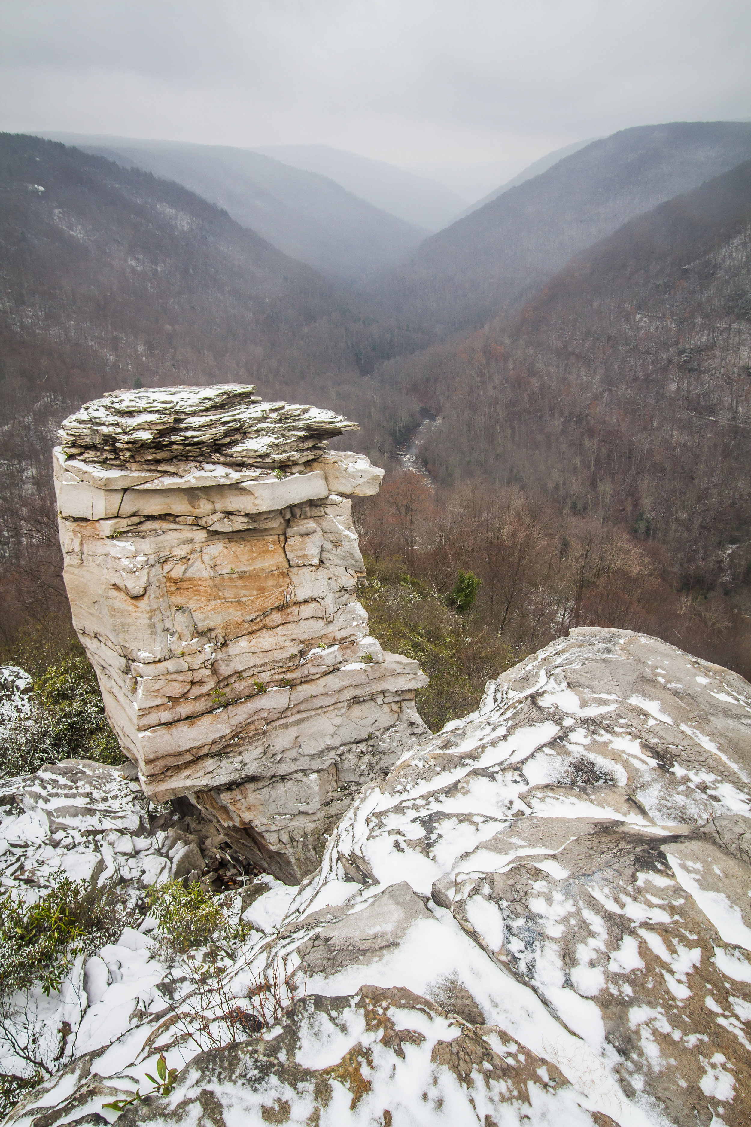 Lindy Point overlook - or windy point, West Virginia