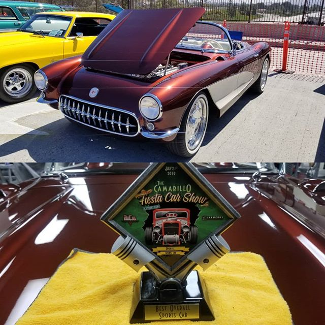 Had a blast at the Camarillo Fiesta! Our Corvette came home with Best Overall Sports Car Trophy.