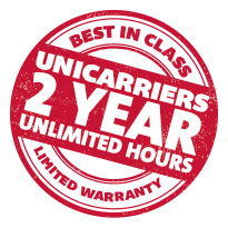 THE UNICARRIERS 2 YEAR / UNLIMITED HOURS WARRANTY