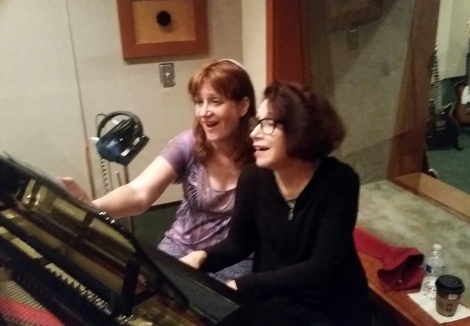 CHERI & DIANE AT STUDIO WEST.JPG
