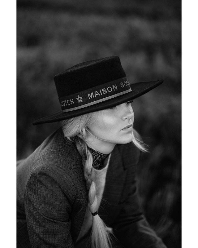 Not your average girly girl @maiastjarnkvist for @skeppsbron10 shot by me. #portrait #bwphoto
