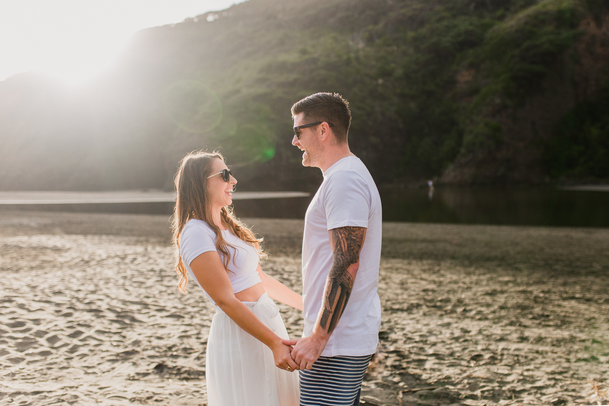 New Zealand - Auckland Wedding Photographer - Engagement - Bethells Beach - Alexandra & Lee - Love, the wild & epic tales