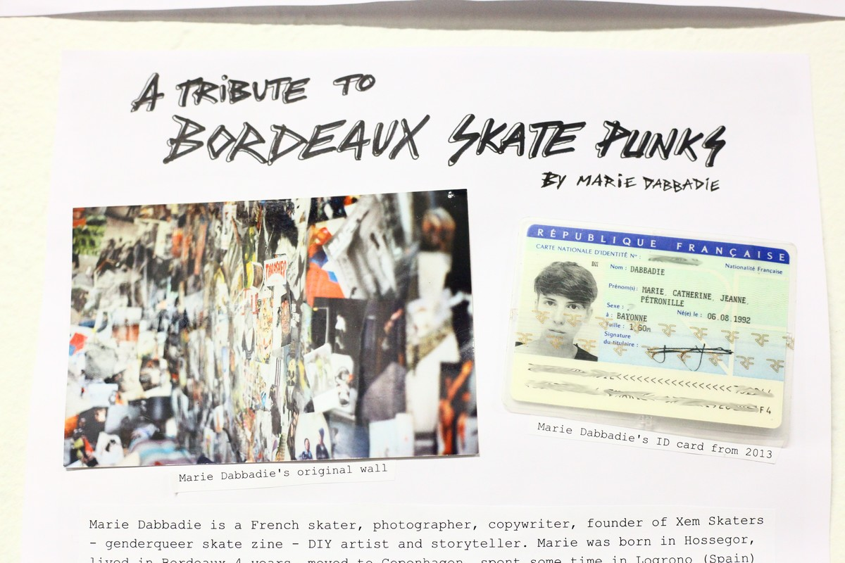 marie dabbadie vert attack tribute to bordeaux skate punks