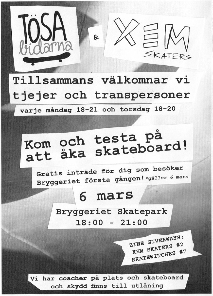 xem skaters tösabidarna skate session to include transgender people