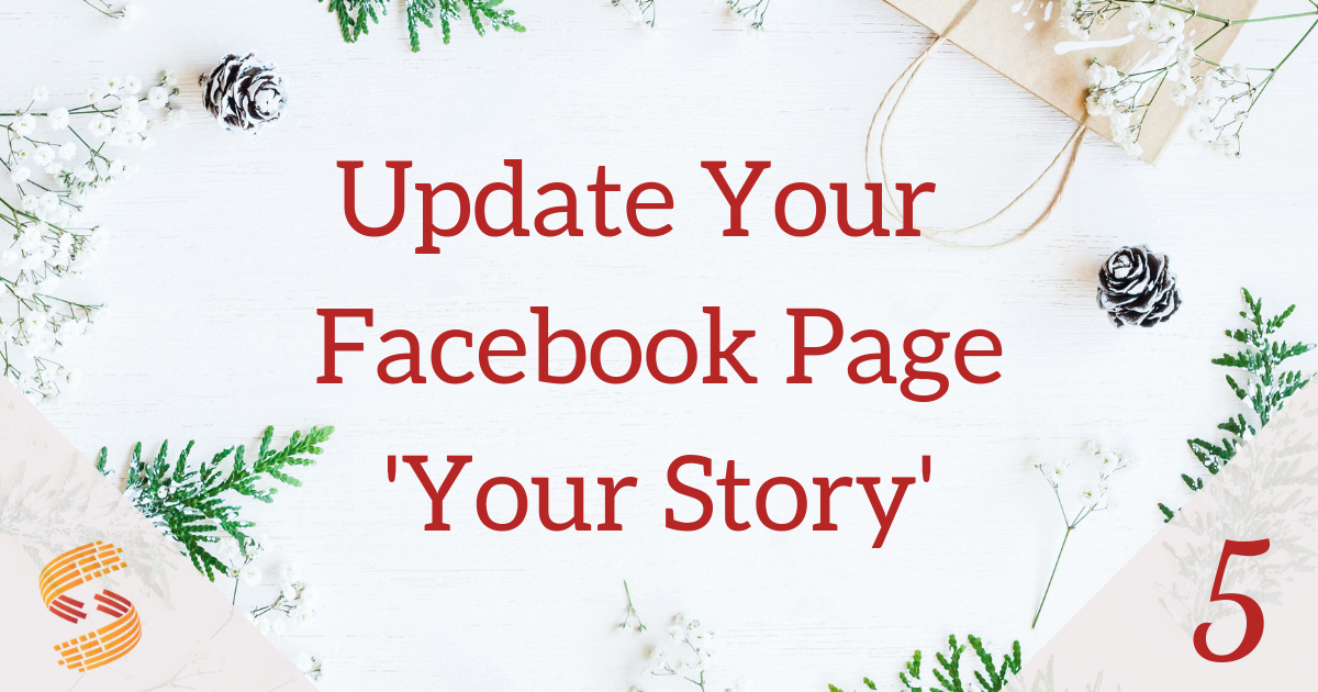 Update 'Your Story' on Facebook Business Page