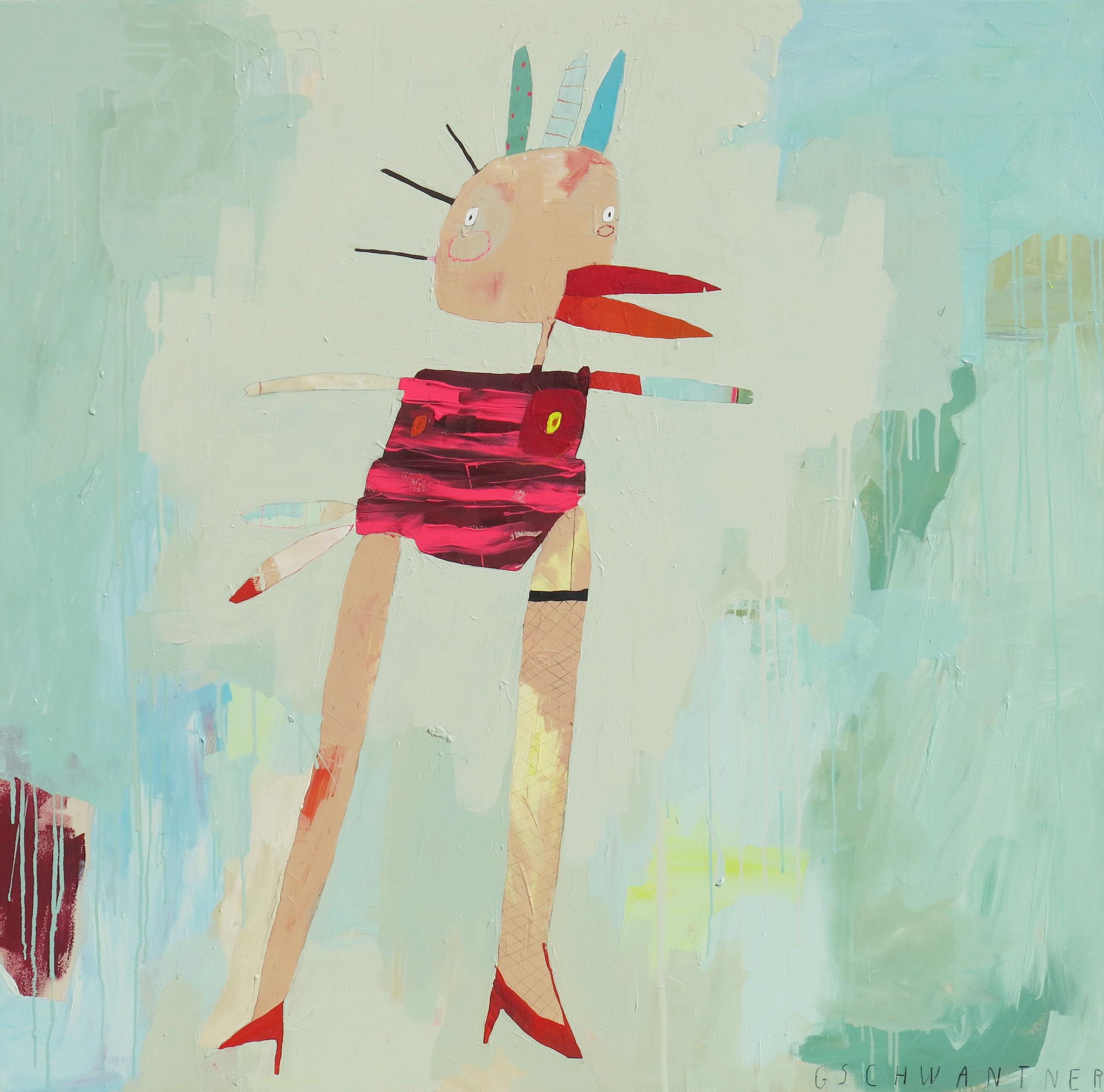 Wilde Henne, 2015, 140 x 140