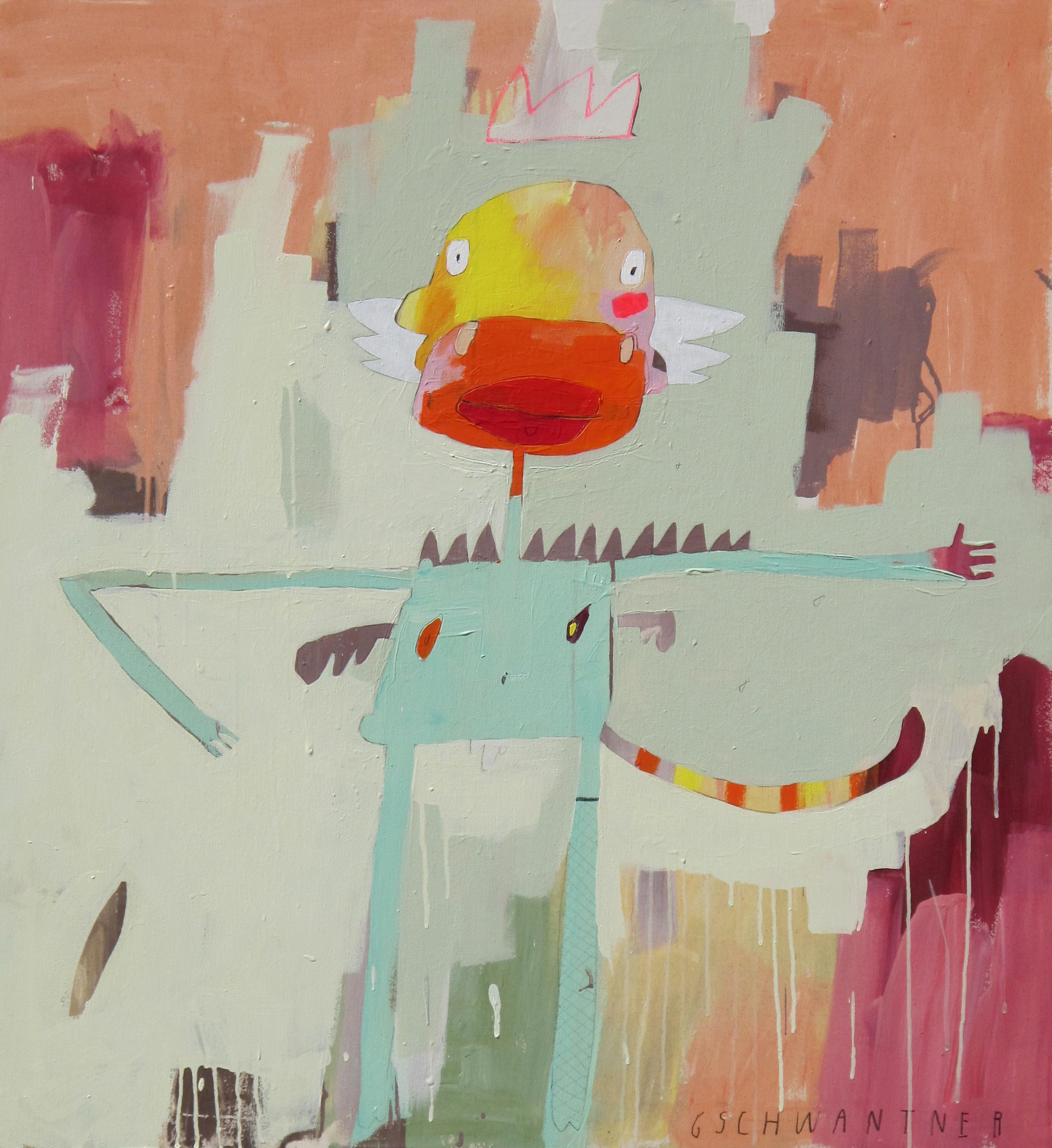 Old Monkey King, 2015, 113 x 104