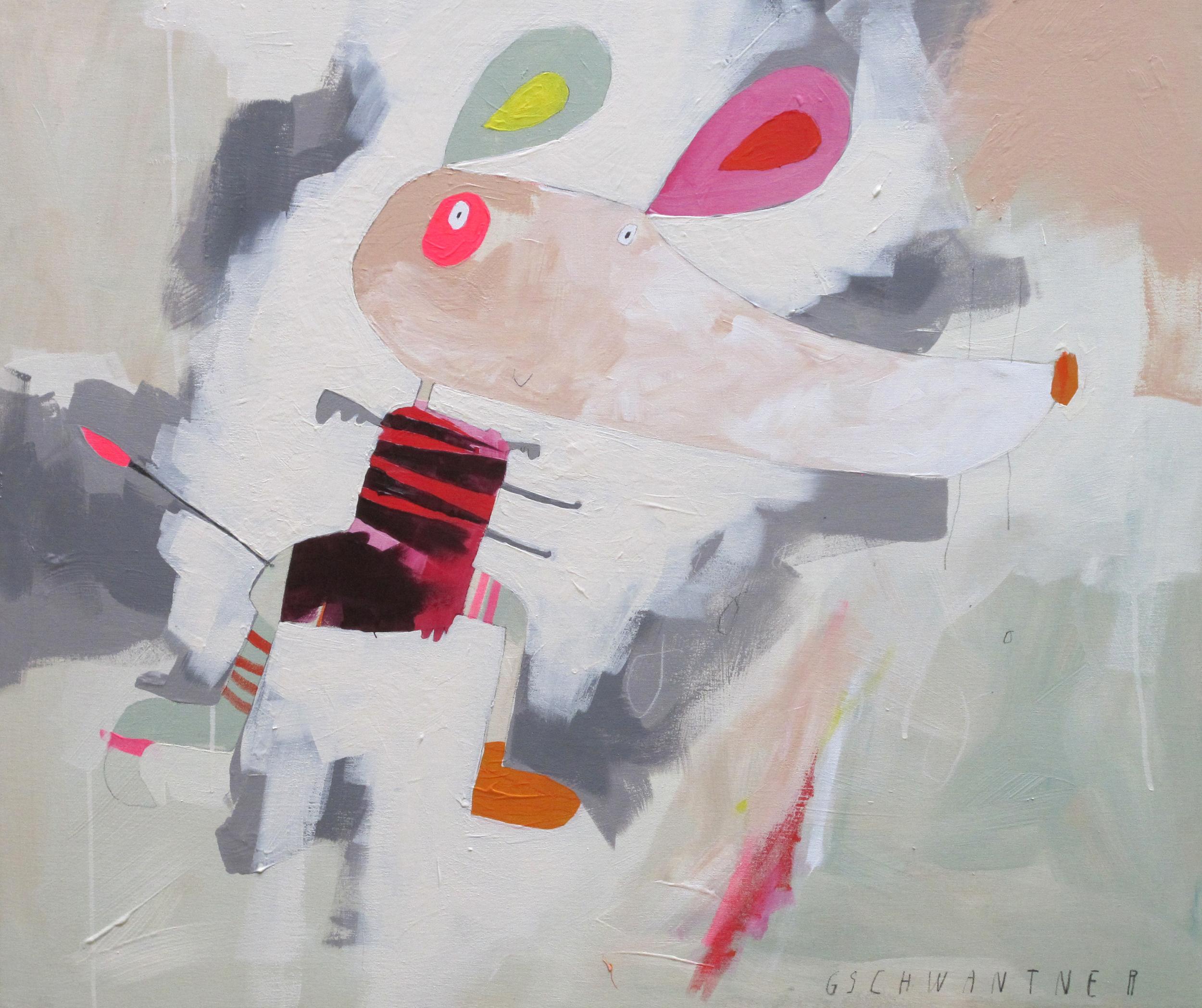 Beflügelte Maus, 2015, 1030 x 840