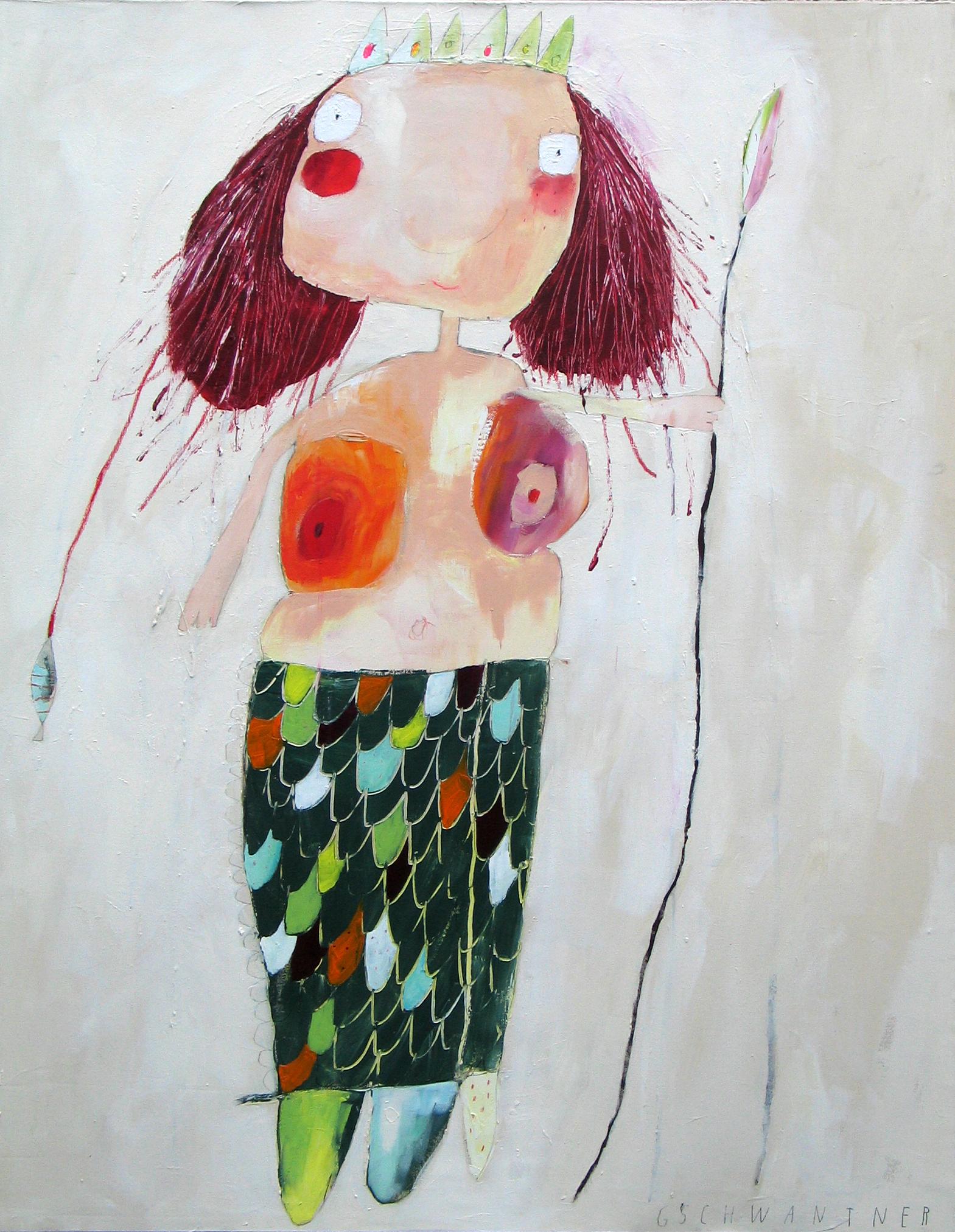 Meerjungfrau, 2008, 103 x 133