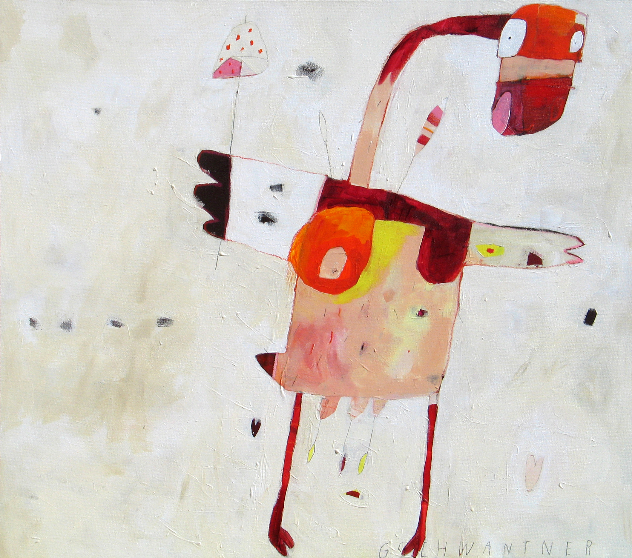 Schirmente, 2006, 104 x 94