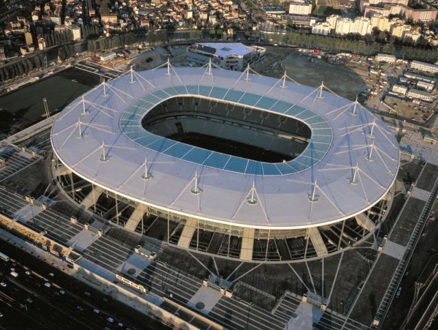 Stade de France - Saint-Denis - luchtfoto