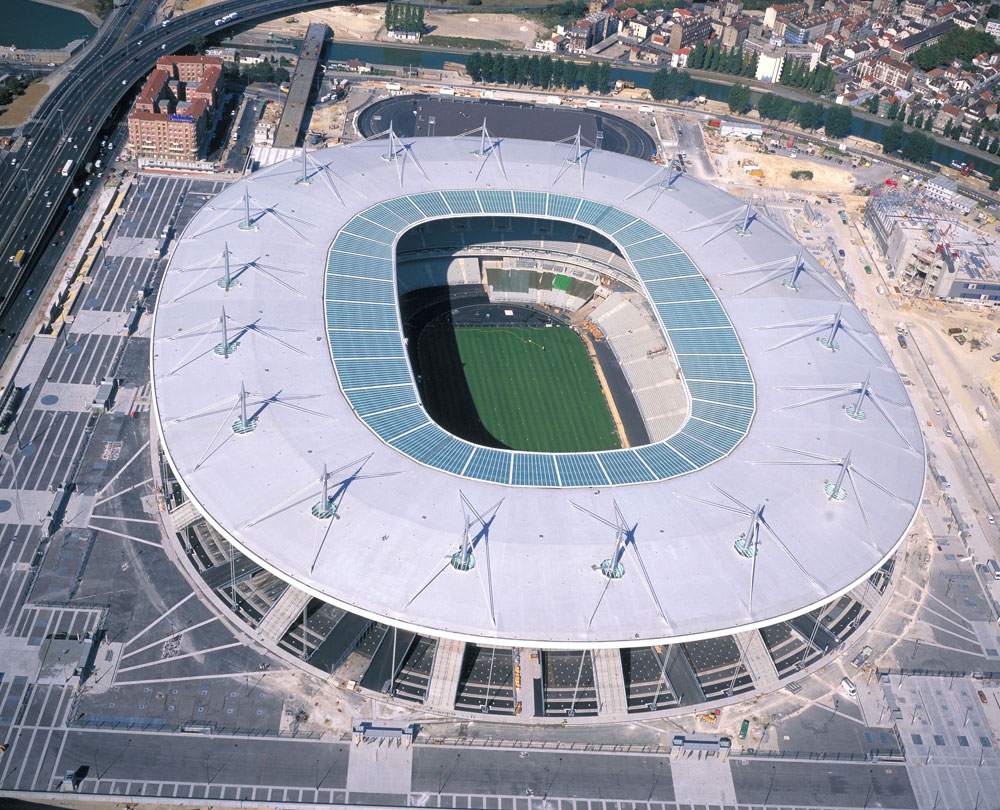 Stade de France - Saint-Denis luchtfoto
