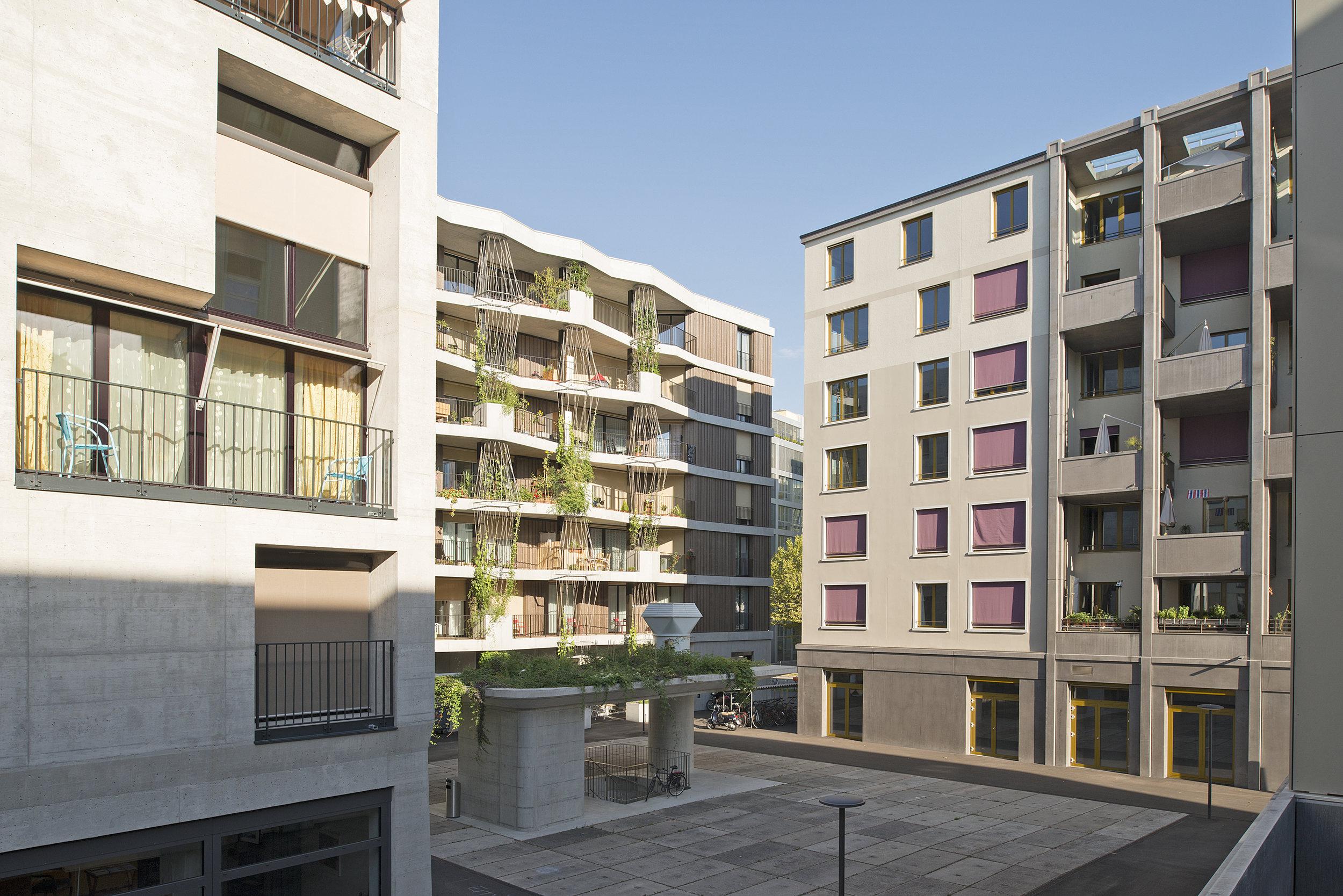 Mehr als wohnen _ Habitat coopératif à Zürich