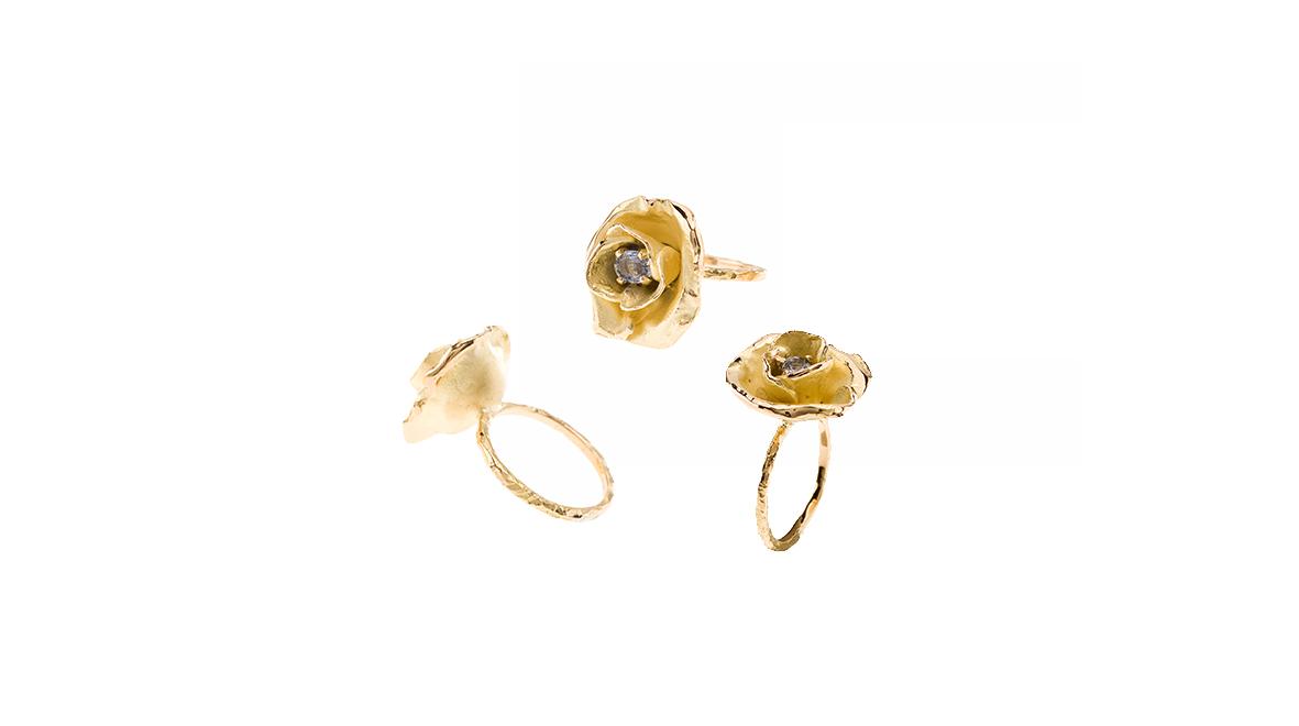 Ring 'Nabab', sapphires bleu.