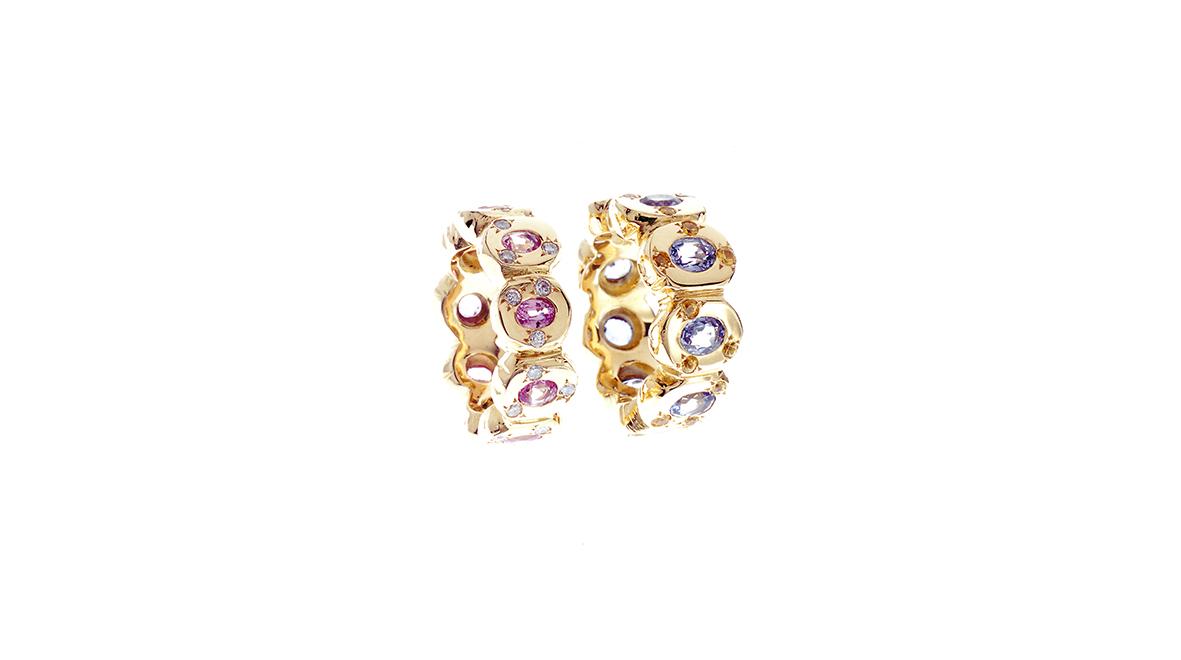 Bracelet, aigue-marine et or jaune 18 carats.