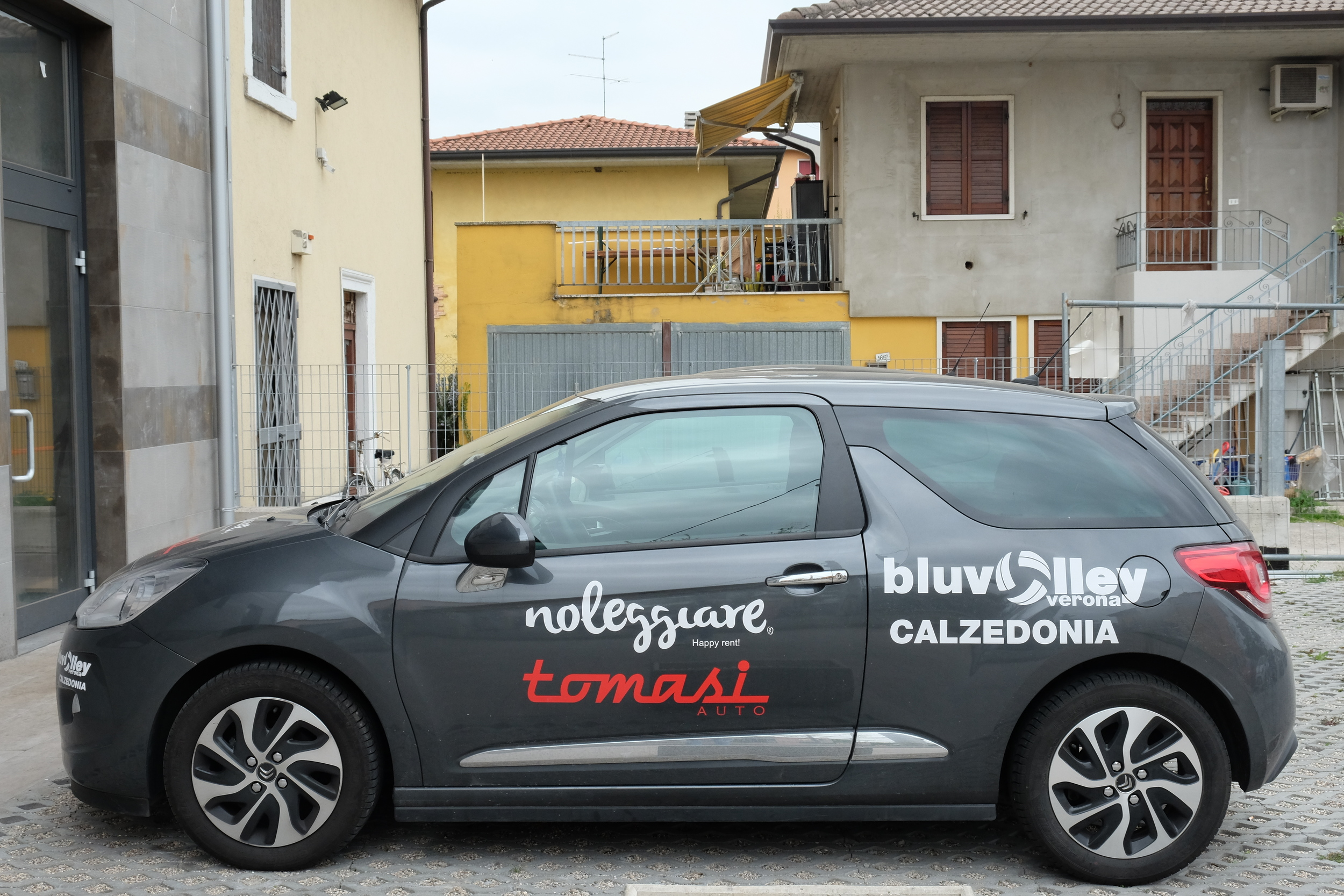 Our sweet little whip that had just about every sticker in the world on it. Fun fact: I was terrified to drive in Italy for the first 3 weeks, because the drivers there can be pretty ruthless and crazy. Lots of horn honking and lots of...gestures.