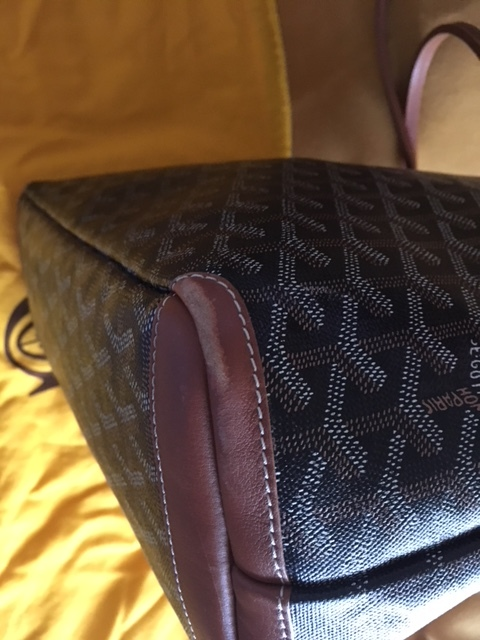 GGZ Goyard Artois PM Black with Tan Trim 7.JPG