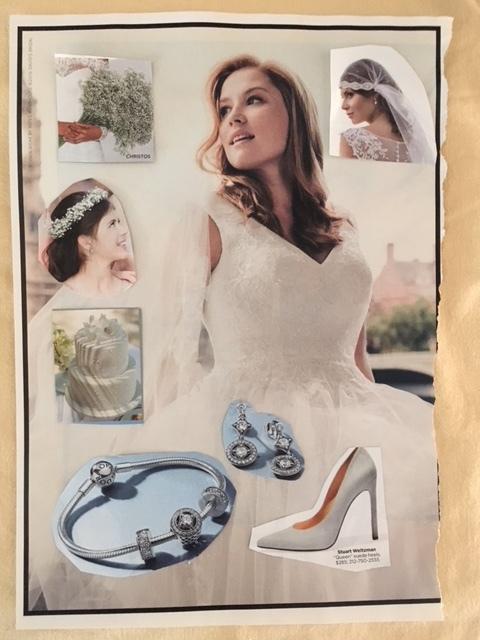 earrings and bracelet by  pandora