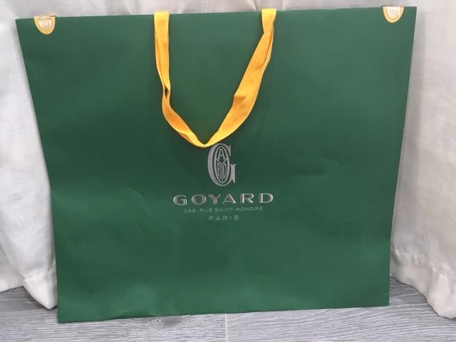 GGZ Goyard Green Shopping Bag Front.JPG