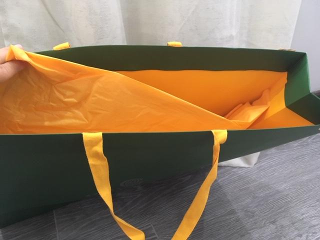 GGZ Goyard Green Shopping Bag.JPG