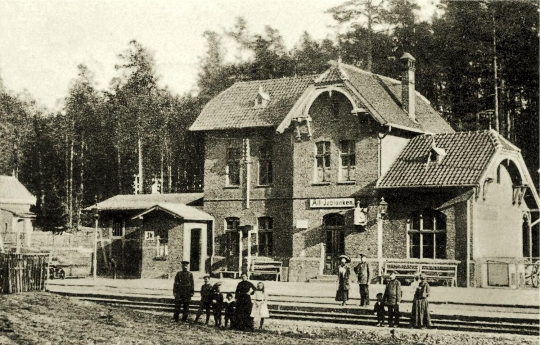 Stare Jabłonki stare zdjęcie