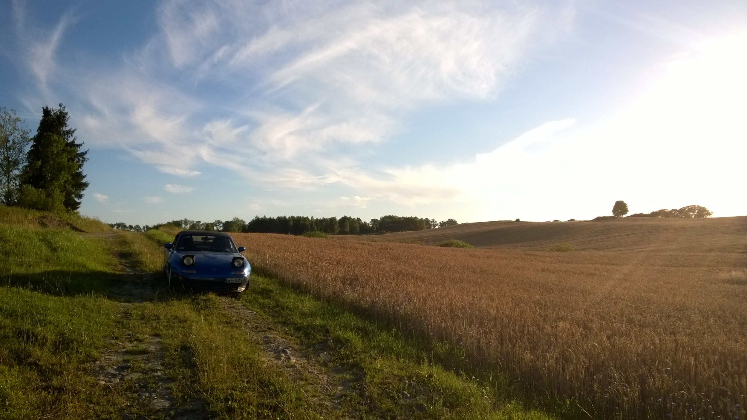 Samochodem na Mazury