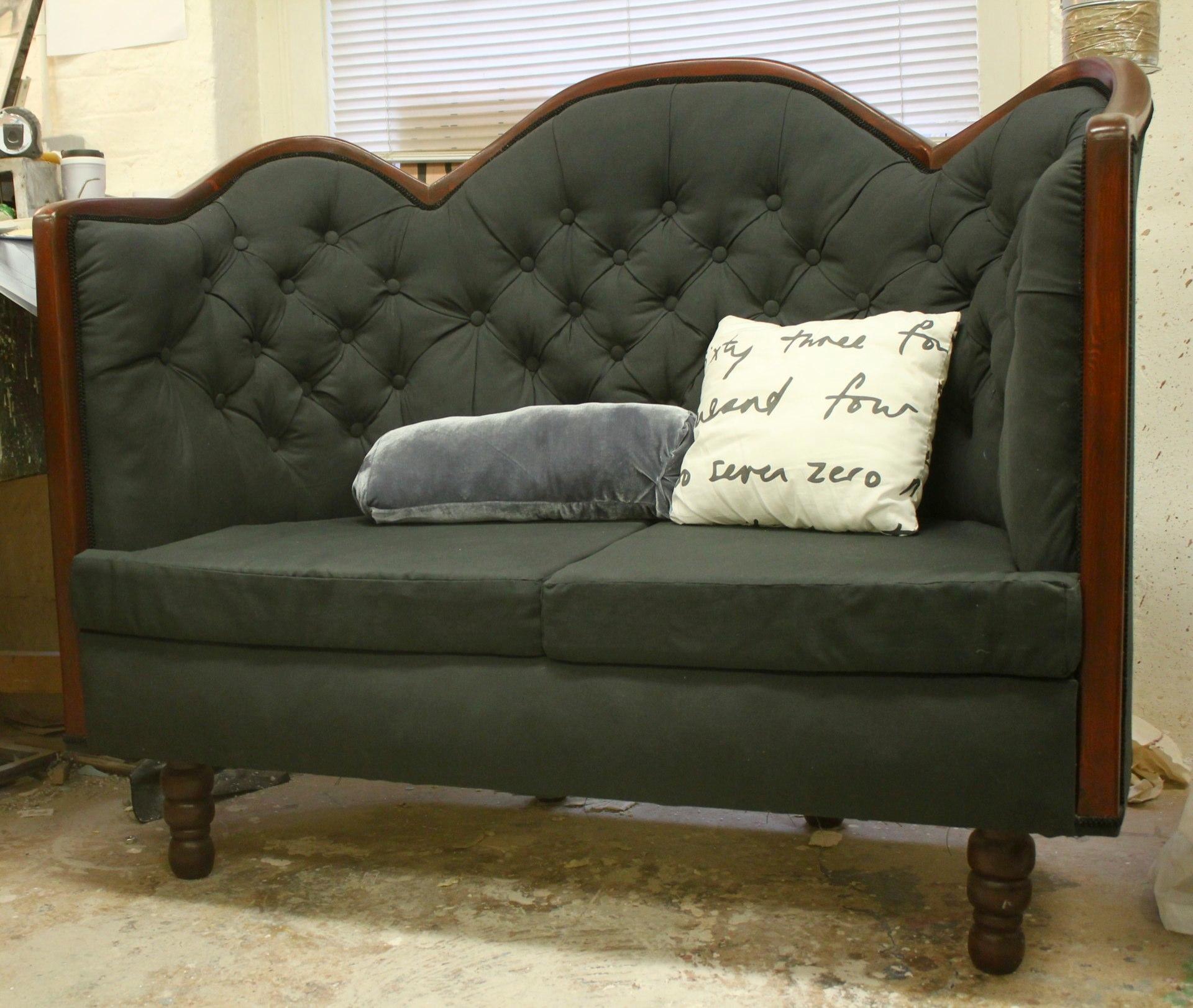 Queen Anne sofa