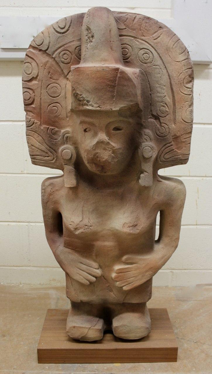 Replica of a Huaxtec deity