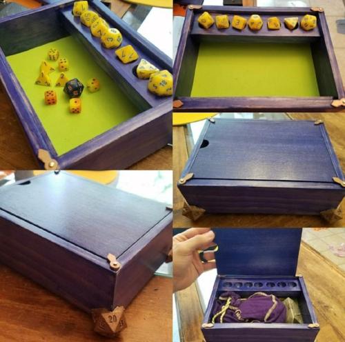 Montravont Dice box