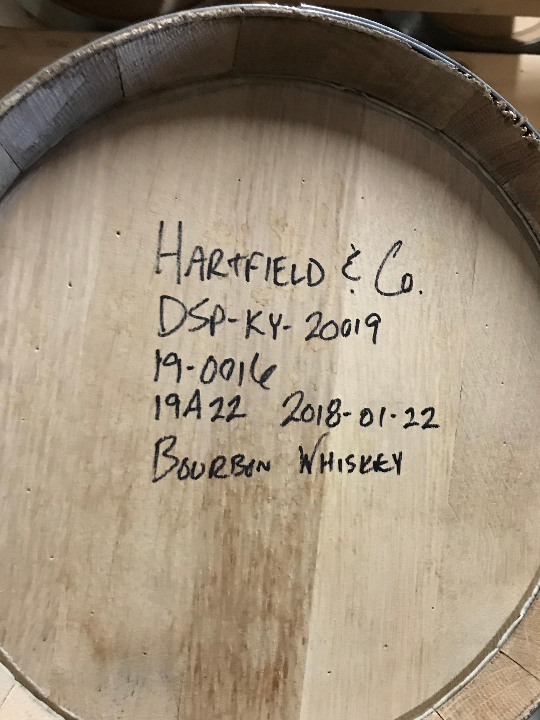 Hartfield & Co.  - 1st bourbon distillery in Bourbon County since 1919