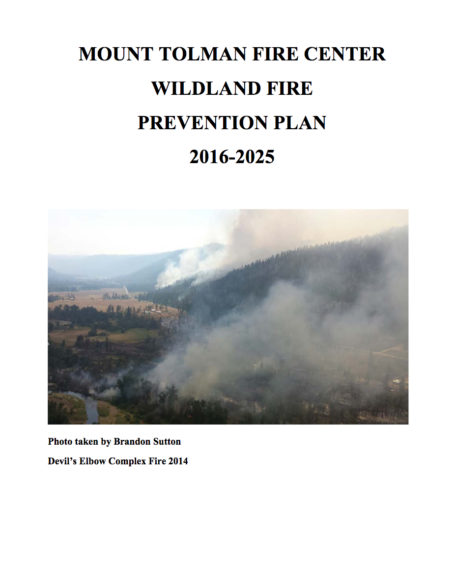 The Wildfire Prevention Plan