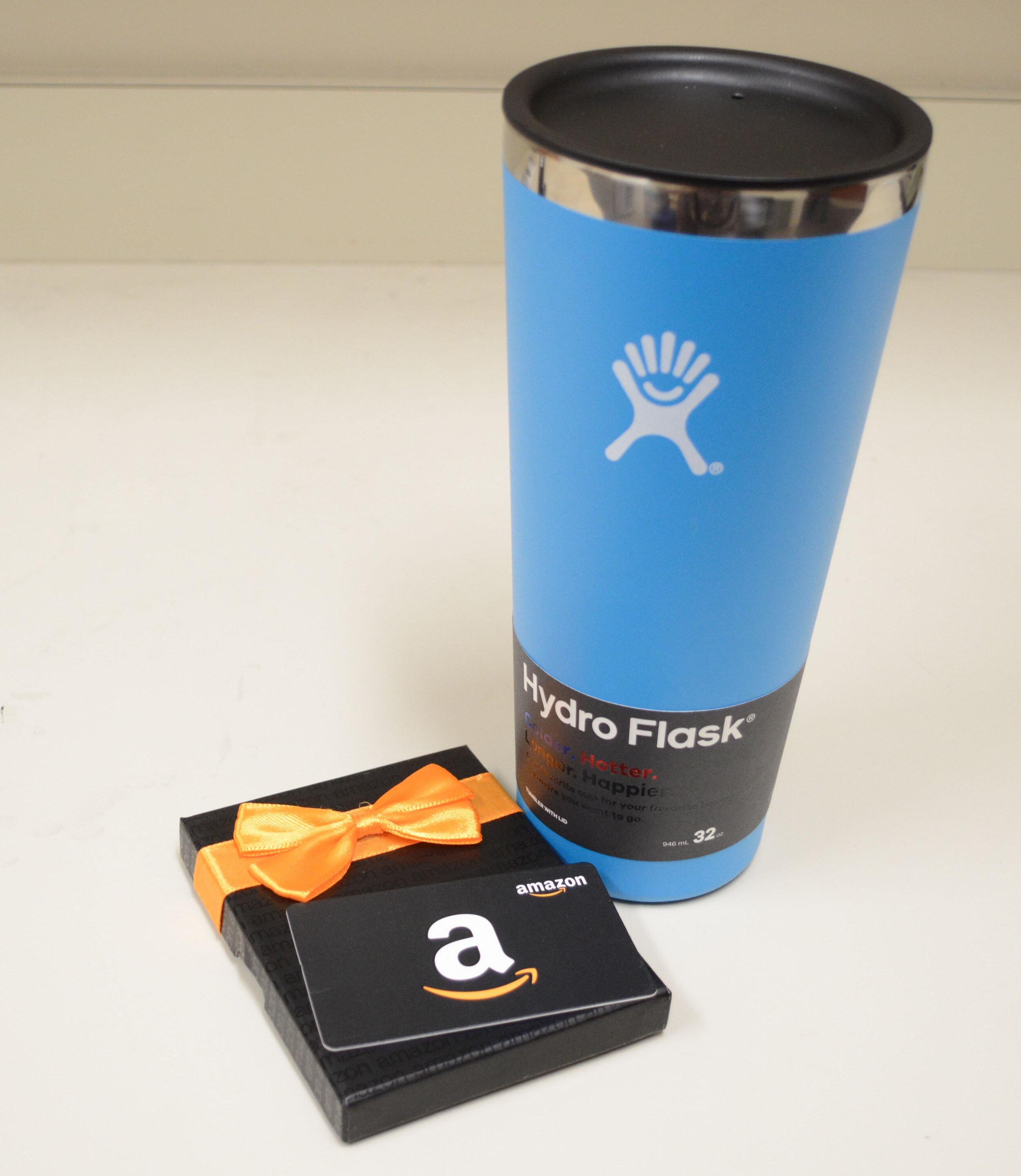 $25 Amazon Gift Card & Hydro Flask