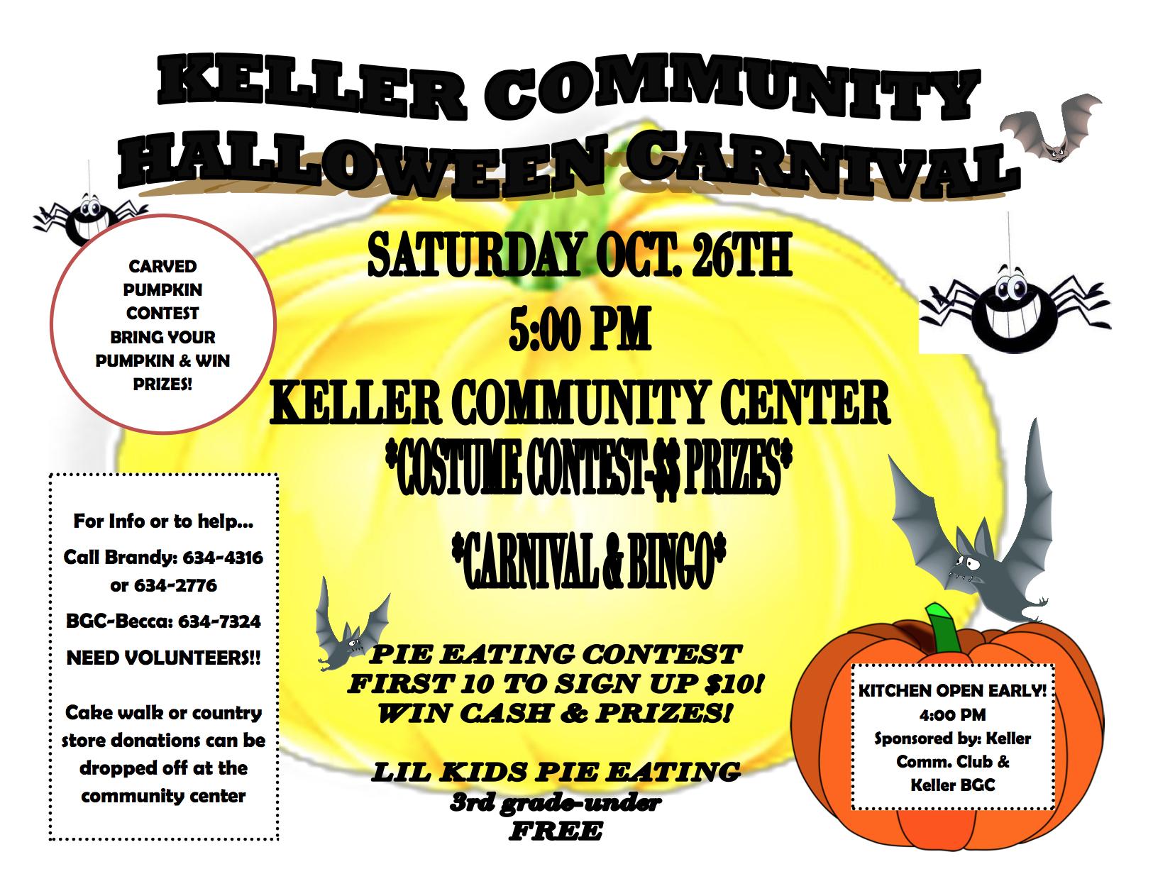 Keller Community Halloween Carnival