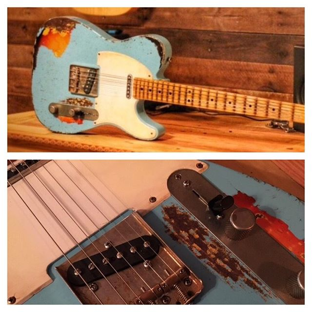 This was a fun one for @redlinecoach Thanks man! #mjt #mjtguitars #guitars #guitars #geartalk