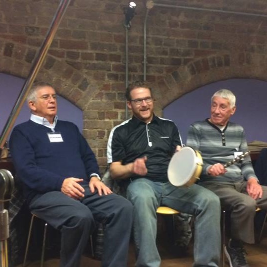 Community Musician, Colin (Centre)