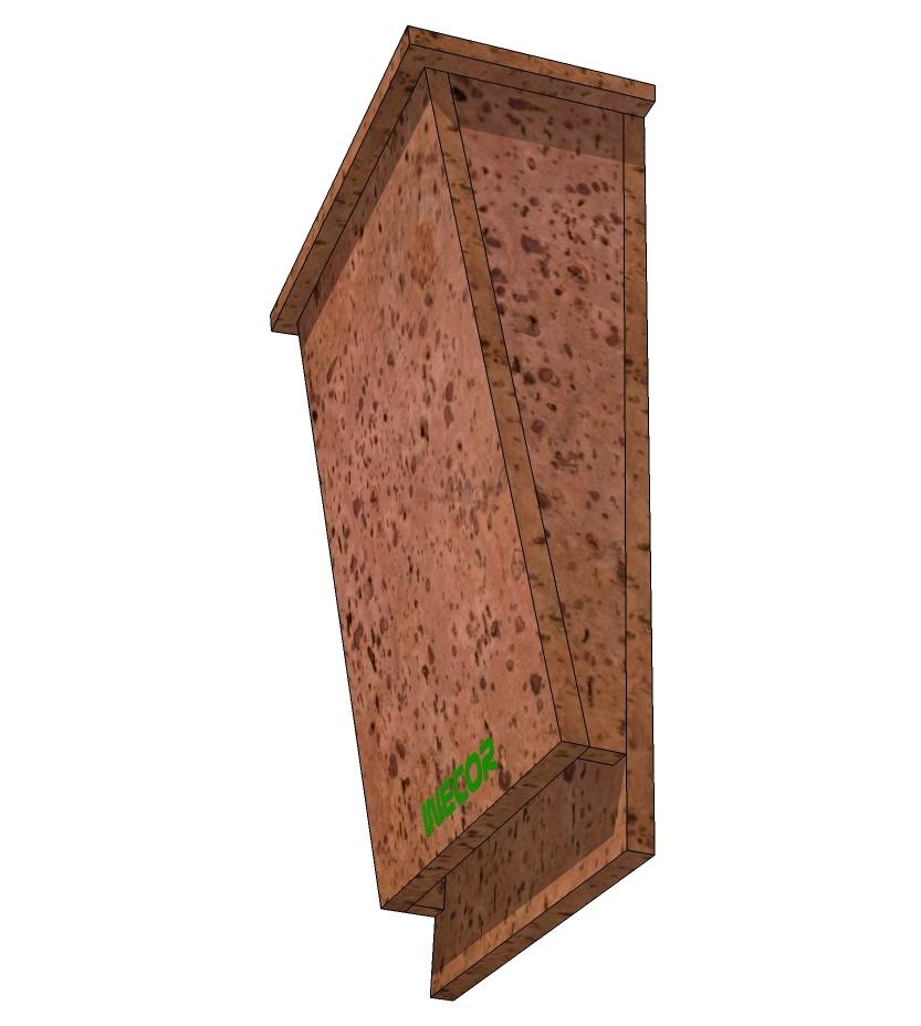 Cajas Nido de corcho Nest Boxes