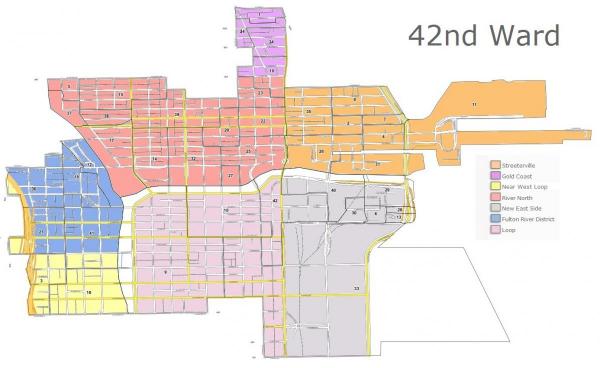 42nd Ward Map