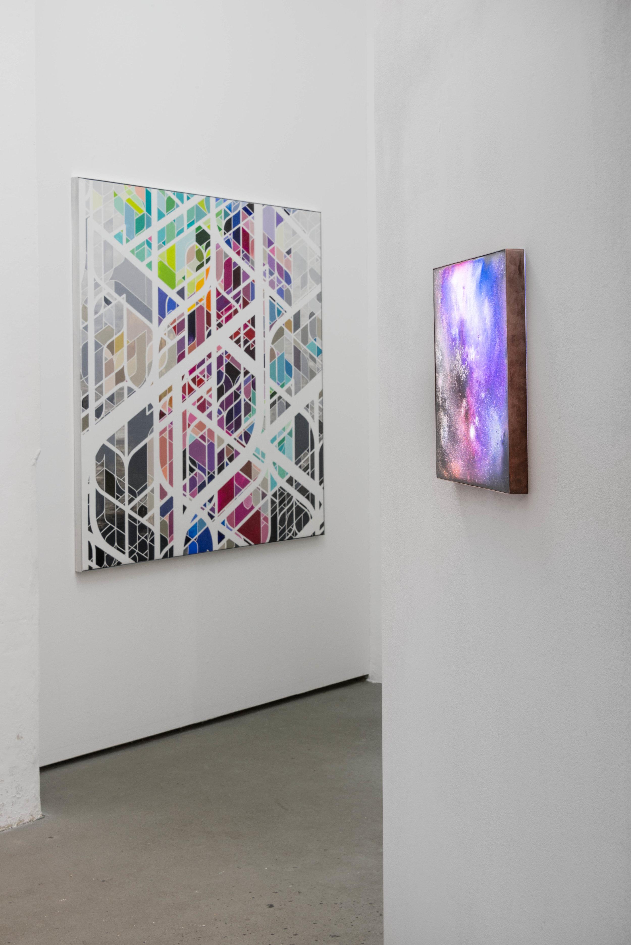 installation view, Semjon Contemporary, 2017