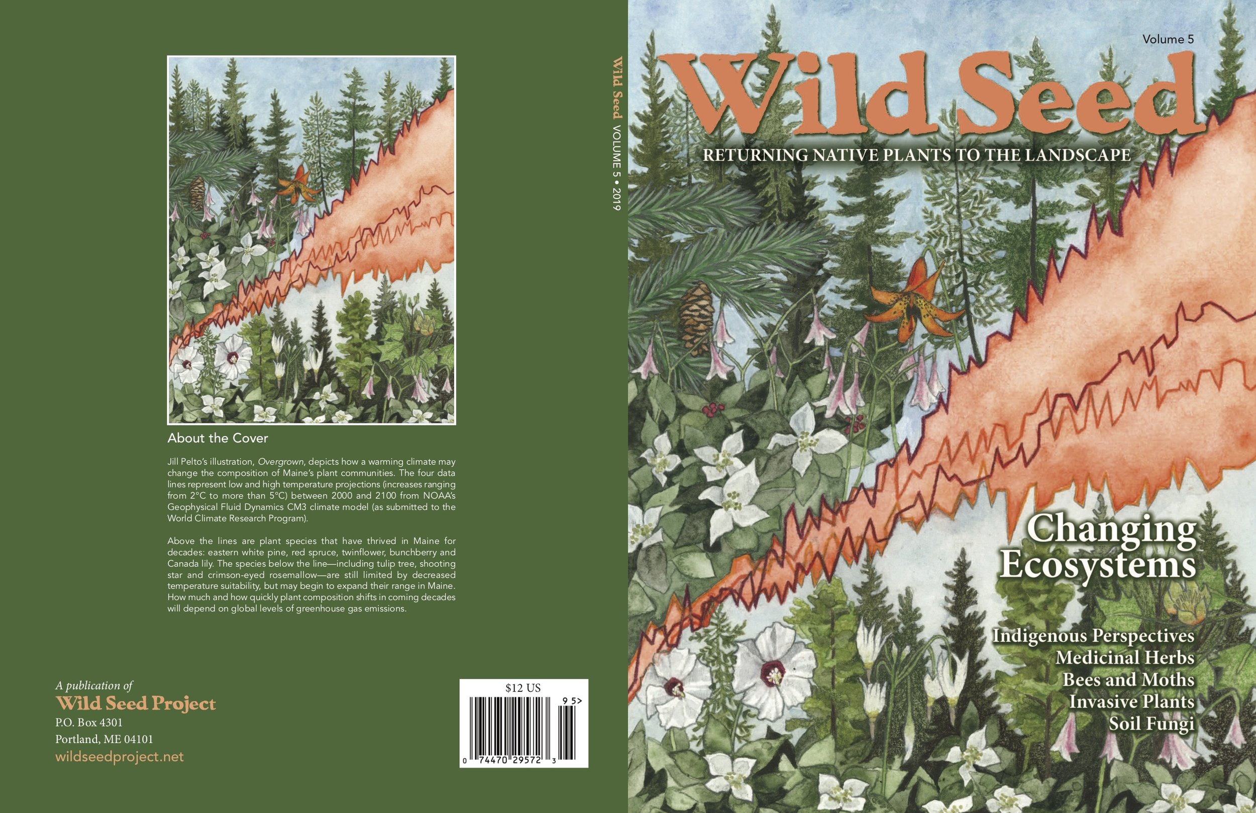 Cover artwork for  Wild Seed Project  2019 annual publication