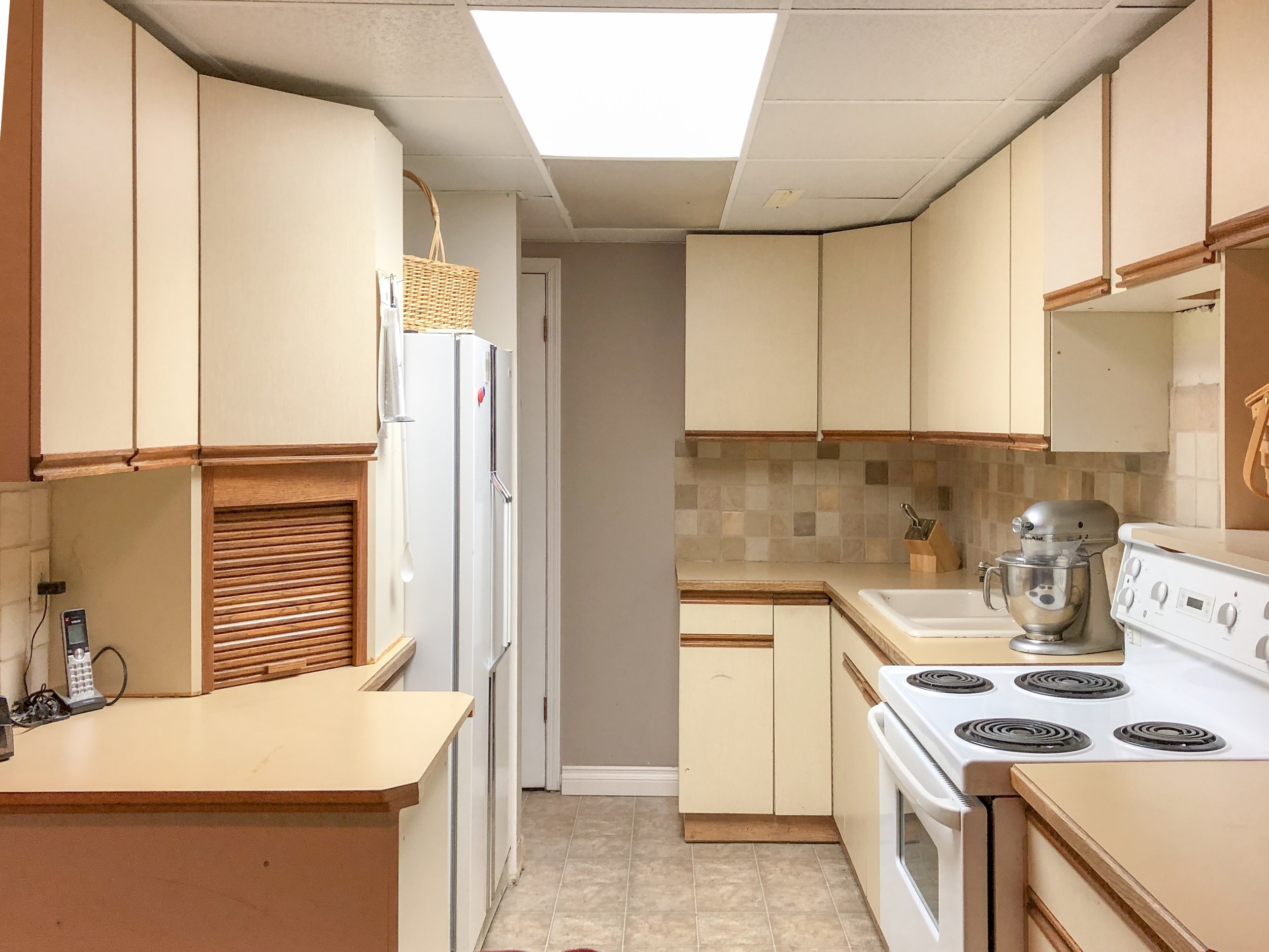 Suite Kitchen on Lowest Level