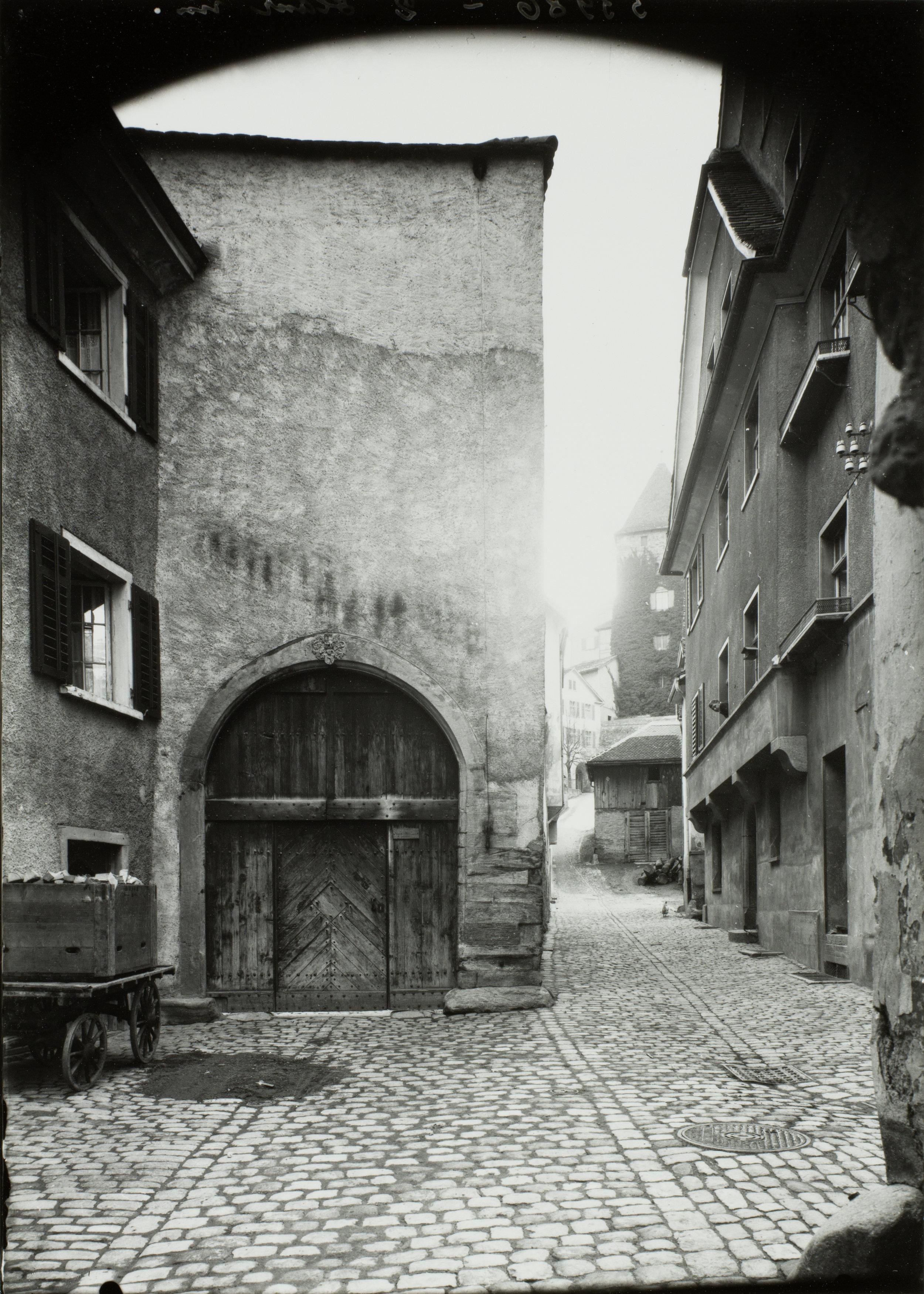Die Sennhofstrasse in Chur,undatiert. Staatsarchiv Graubünden, Chur, FN-XII-13-18-C-363