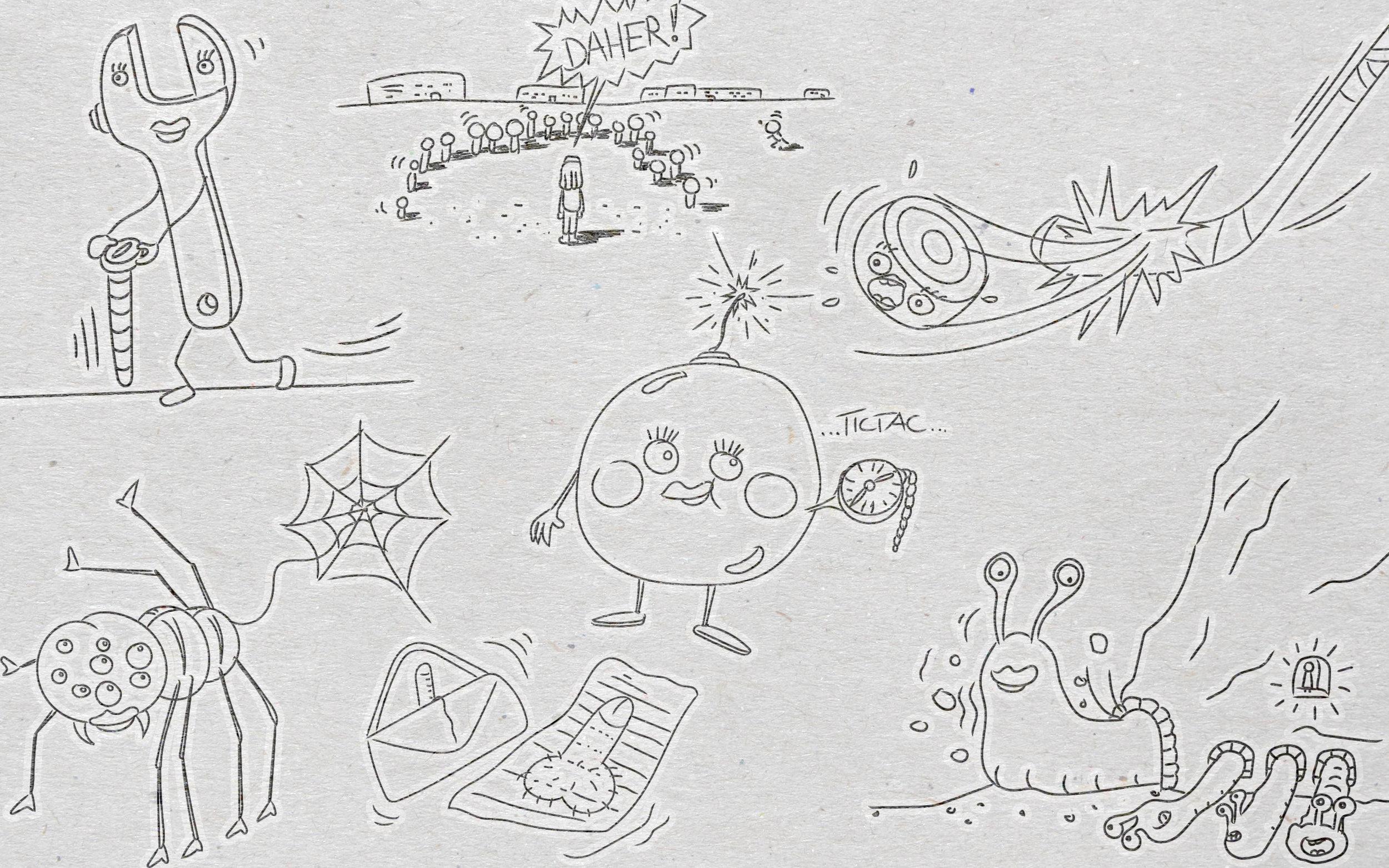 Illustration zur Ausgabe 14