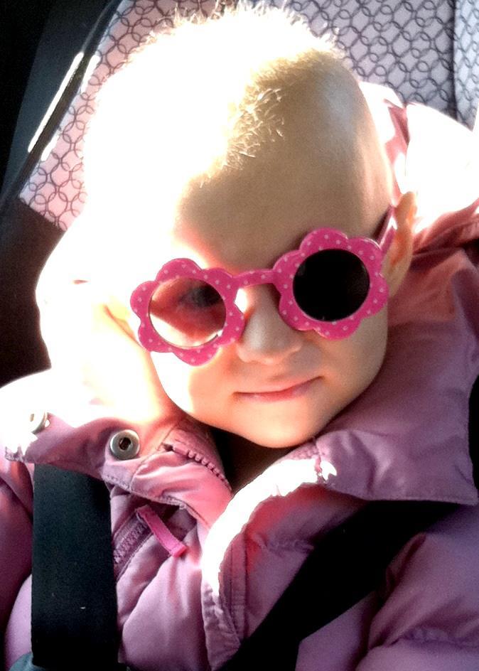 Ella and Tackle Kids Cancer