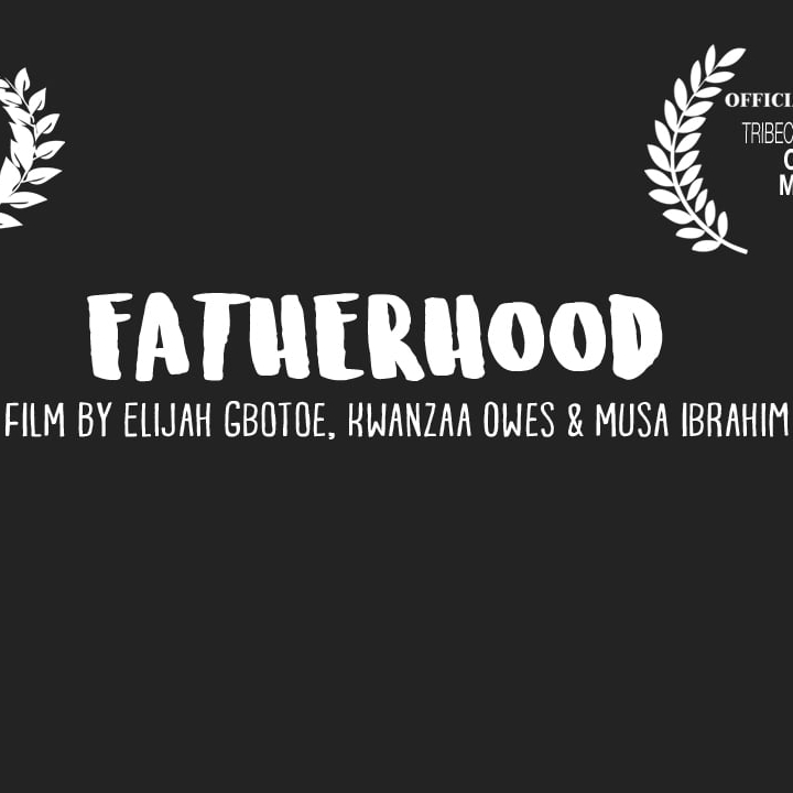 Fatherhood - Wednesday, May 3rd, 6:30pmQ&A with filmmakers Elijah Gbotoe and and Kwanzaa Owes (Fatherhood) and Rahkim Hawkins (The Come Up).