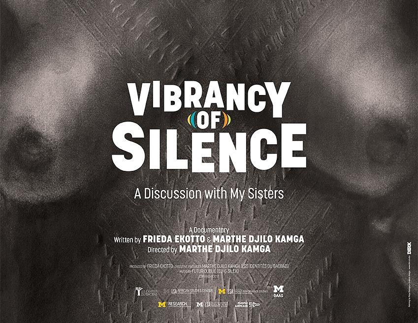 Vibrancy of Silence - Saturday, June 9th, 2:00pm(NY Premiere) Marthe Djilo Kamga, 2017, 90 min