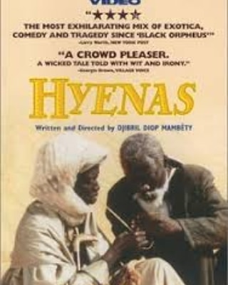 """""""Djibril Diop Mambéty's 1992 film resonates primarily for its lacerating comedic writing and pacing."""" - Clayton Dillard, Slant Magazine A movie about human folly, hubris, and evil, and set in a Senegalese village, Hyenas is showing at Maysles August 2nd to 8th! Tickets are 12 dollars. From 8/2 to 8/4, there are showings at 6:30 and 9, and from 8/5 to 8/8 there is a 7:30 showing.  For more information, visit maysles.org and click on the calendar tab!"""