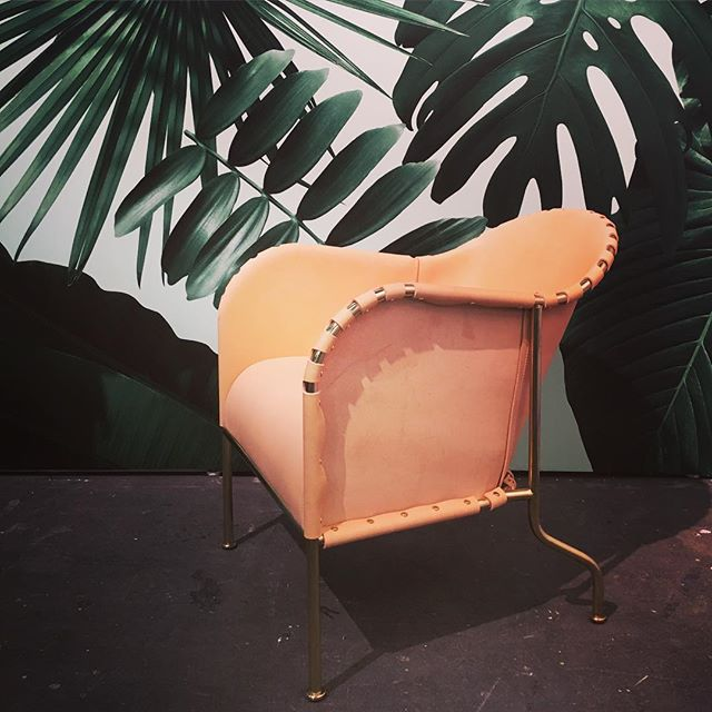 It's a wrap! #matstheselius The Bruno was the most talked-about chair at @lsmdnyc at @addesignshow and is now ready for vacation @flavorpaper. Lovely meeting everyone and thank you for a wonderful debut weekend. #addesignshow #lsmd @collection_kallemo #kallemo #källemo