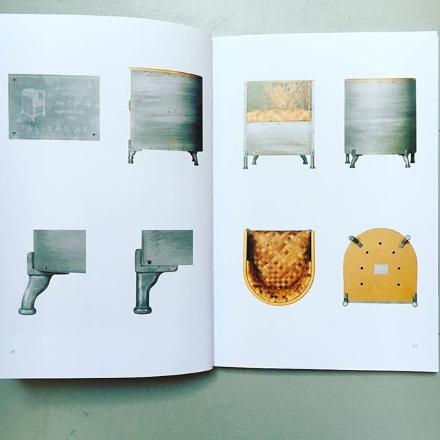 """Behold the details of the first Aluminium chair. """"Instead of fabric, I started thinking about leather and of doing something more...I unpicked old suitcases with embossed leather, cut it into strips and wove them together for the seat & back."""" Adapted from Mats Theselius. #matstheselius #lsmdnyc.com @addesignshow #kallemo #källemo #interiordesign"""